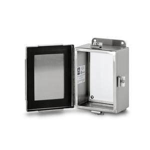 Austin Electrical Enclosures AB-664JHFX 6X6X4 N4X SS HNGD