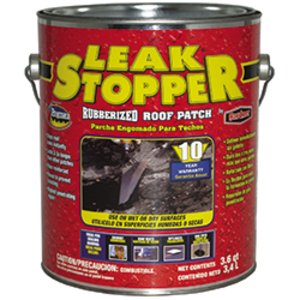 Bizline 0318-GA Leak Stopper Rubberized Roof Patch, 1 Quart