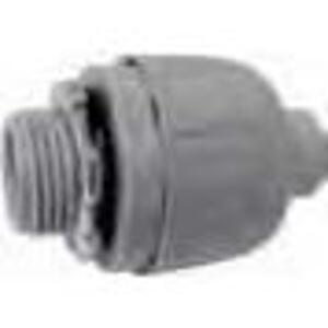 "Bizline 050LTC Liquidtight Connector, 1/2"", Straight, Non-Metallic"