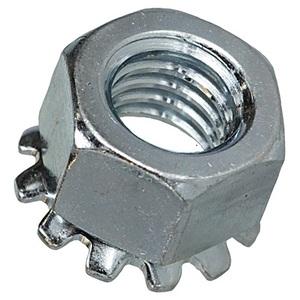 Bizline 1032KNSS Kep Nut, #10-32, Stainless Steel, 100/PK
