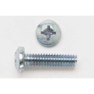 "Bizline 1032X12PHPMSSS Machine Screw, Pan Head, Phillips, 10-32 x 1/2"", Stainless Steel"
