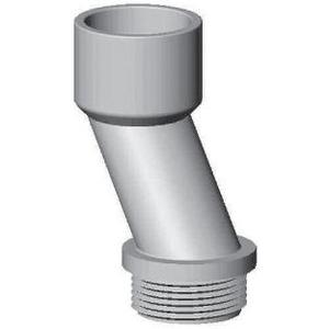 """Bizline 125METEROFFSET Meter Offset Nipple, 1-1/4"""", PVC"""