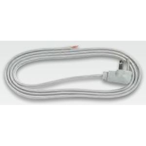 Bizline 163SPT36FTGR Power Supply Cord, Type SJTW, 16/3, 6', Gray