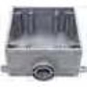 "Bizline 2FSE075 FS Box, Weatherproof, Dead-End, 2-Gang, With Lugs, 3/4"", Non-Metallic"