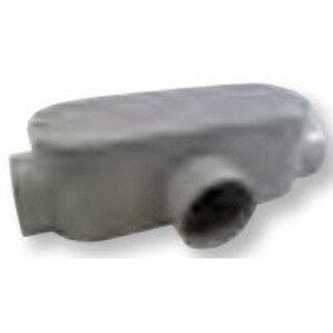 "Bizline 300T Conduit Body, Type T, Size: 3"", Material: PVC"