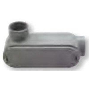 """Bizline 400LL PVC Conduit Body, Type LL, Size: 4"""", Non-Metallic"""