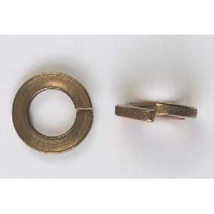 "Bizline 516LWSB Split Lock Washer, 5/16"", Silicon Bronze, 100/PK"