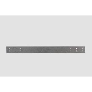 """Bizline BOCA5X18 Nail Safety Plate, Steel, 5"""" x 18"""""""