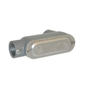 "Bizline BZLCOLB1CG Conduit Body, Type: LB, Size: 1/2"", Form 5, Cover/Gasket, Aluminum"