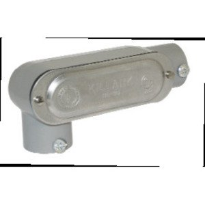 "Bizline BZLCOLR2CG Conduit Body, Type: LR, 3/4"", Form 5, Aluminum"