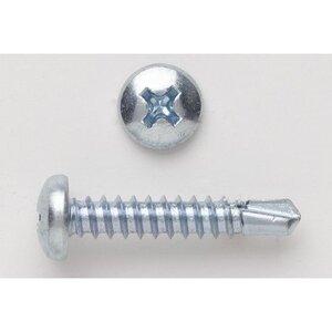 """Bizline R1012PHPT Self-Drill Screw, Pan Head, Phillips, 10 x 1/2"""""""
