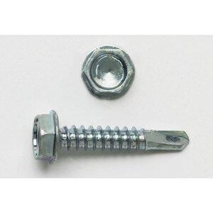 """Bizline R101HT Self-Drill Screw, Hex Washer Head, 10 x 1"""""""