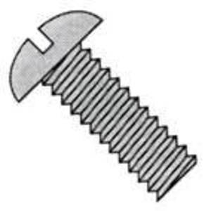 "Bizline R1438SB Stove Bolt with Nut, Round Head, Combo, 1/4"" x 3/8"", Jar of 100"