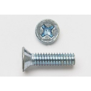 Bizline R62FHP Machine Screw, Flat Head / Phillips, 6-32 x 2""