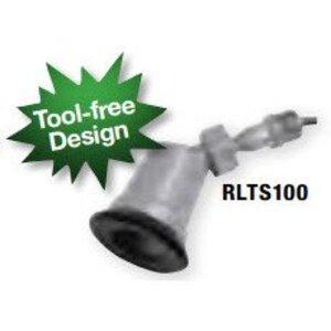 Bizline RLTS100 Lampholder, Metallic, Swivel, Gray