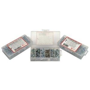 Bizline RPHCKIT Tapping Screw Kit, Pan Head, Combo, Assortment Sizes