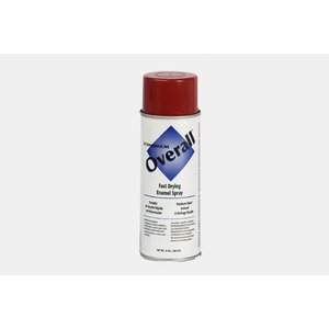 Bizline V2407830 Cold Galvanized Spray Paint, Red, 10 Ounce