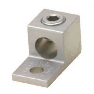 Blackburn ADR25 Mechanical Lug, 1-Conductor, 1-Hole Mount, Aluminum, 6 AWG - 250 MCM