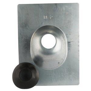 """Blackburn RF2BB Roof Flashing, Diameter: 2"""", Non-Metallic"""
