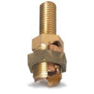 Blackburn SP5SL Service Post Connector, Copper, 2 - 1/0 AWG
