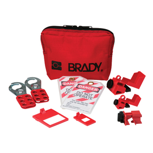 Brady 105966 Personal Breaker Lockout Kit (No Padlocks)