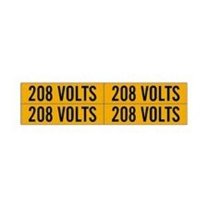 Brady 44206 Conduit & Voltage Marker