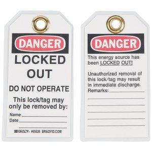 Brady 65526 Lockout Tags