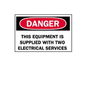 Brady 88183 Machine & Operational Sign