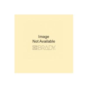 Brady 92123 BLK/YEL NONREFLEC