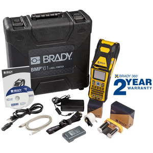 Brady BMP61 Label Maker Kit