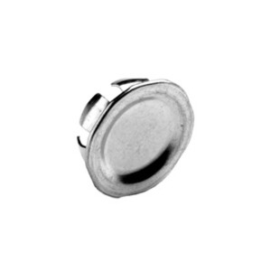 "Bridgeport Fittings 1691 Knockout Seal, 1/2"", Steel"