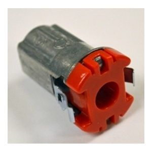 "Bridgeport Fittings 38ACDS MC/AC Connector, Insulated, Size: 1/2"", Type: Snap-In, Zinc Die Cast"