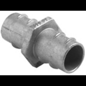 "Bridgeport Fittings 532-DC Flex Coupling, Type: Screw-In, Size: 1"", Material: Zinc Die Cast"