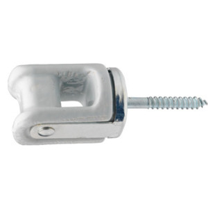 Bridgeport Fittings RWH-1 Wireholder, Screw Type, Porcelain