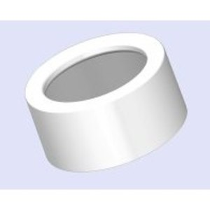 "Bridgeport Fittings TWB-52 EMT Insulating Bushing, 3/4"", Snap-In, Plastic"