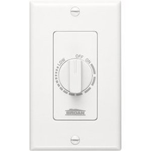 Broan 57W Speed Switch,broan,120 Vac,3 Amp,wht Color