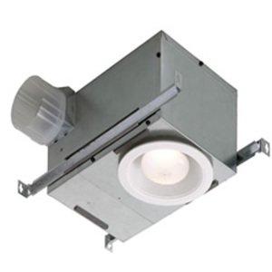 Broan 744FL Recessed Fan Light,broan,70 Cfm,7-3/8 In Grille