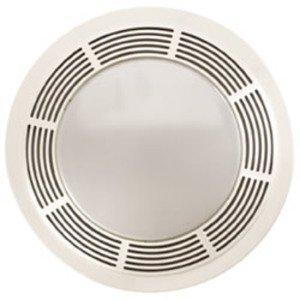Broan 751 100 CFM Ceiling Fan/Light, Incandescent