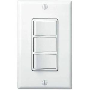 Broan 77DW 4-Function Control, 120V, 15A, White