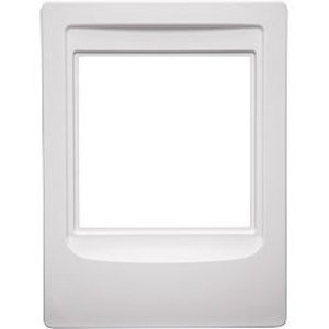 "Broan NF300RWH Rough-In Frame, Cutout: 10"" x 7-1/2"", White, Non-Metallic"