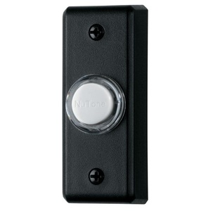 Broan PB69LBL Illuminated Pushbutton, Black