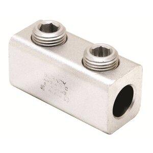 Burndy AMS4/0 Mechanical Splicer/Reducer, Aluminum, 6 - 4/0 AWG