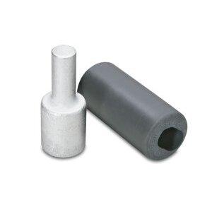 Burndy AYP500 Terminal Plug, Aluminum, 500 MCM, AL/CU Rated