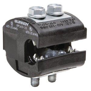Burndy BIPC4/01/0 Insulation Piercing Connector, 1/0 - 4/0 AWG (Run & Tap), 600V