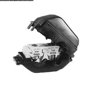 Burndy KPU39A26AC Tap Connector, Insulated, Aluminum, 500 - 750 MCM
