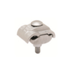 Burndy UC25R2R Parallel Clamp, Aluminum, 8 - 1/0 AWG, No Stripseal
