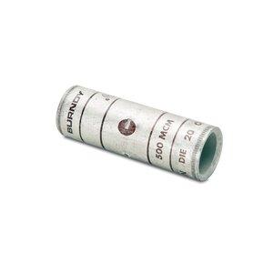 Burndy YS34L Compression Buttsplice, Copper, 500 MCM, Standard Barrel
