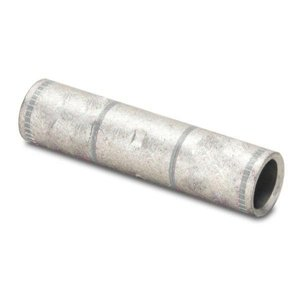 Burndy YS3C Compression Buttsplice, Copper, 3 AWG, Long Barrel