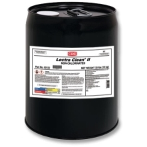 CRC 02122 For cleaning where chlorinated solvents are not acceptable. High flashpoint of 180°F. Effectively removes soils with no residue build-up. Use caution on plastics.