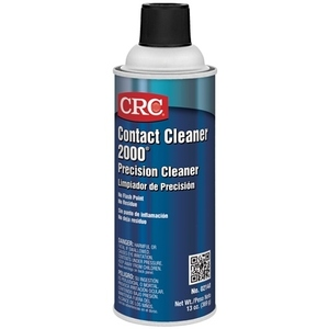 CRC 02140 Contact Cleaner, 2000 Precision, 13oz Aerosol Spray Can